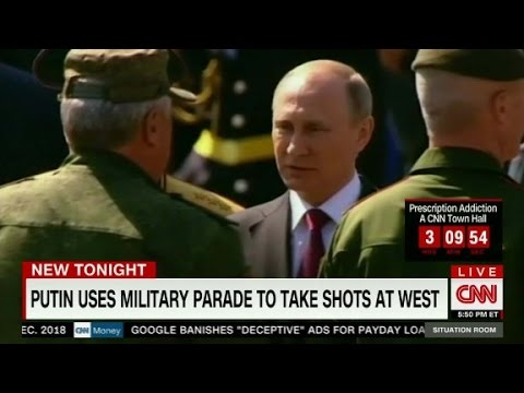 Putin takes a swipe during Victory Day