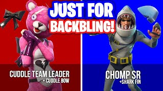 Fortnite Skins you bought just for the Back Bling...