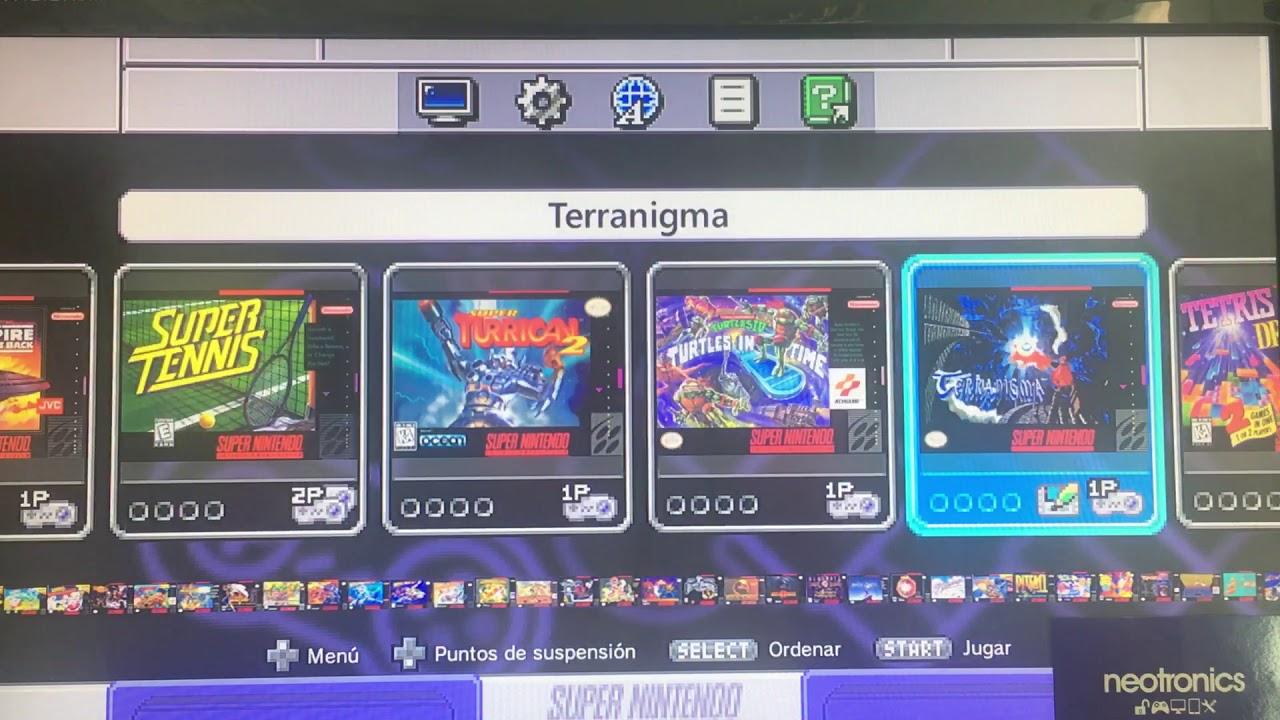 Snes Mini Classic Edition Con 150 Juegos Youtube