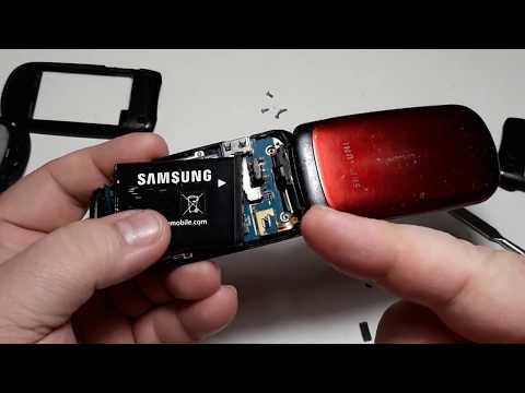 Samsung E1150. Восстановление телефона часть 1