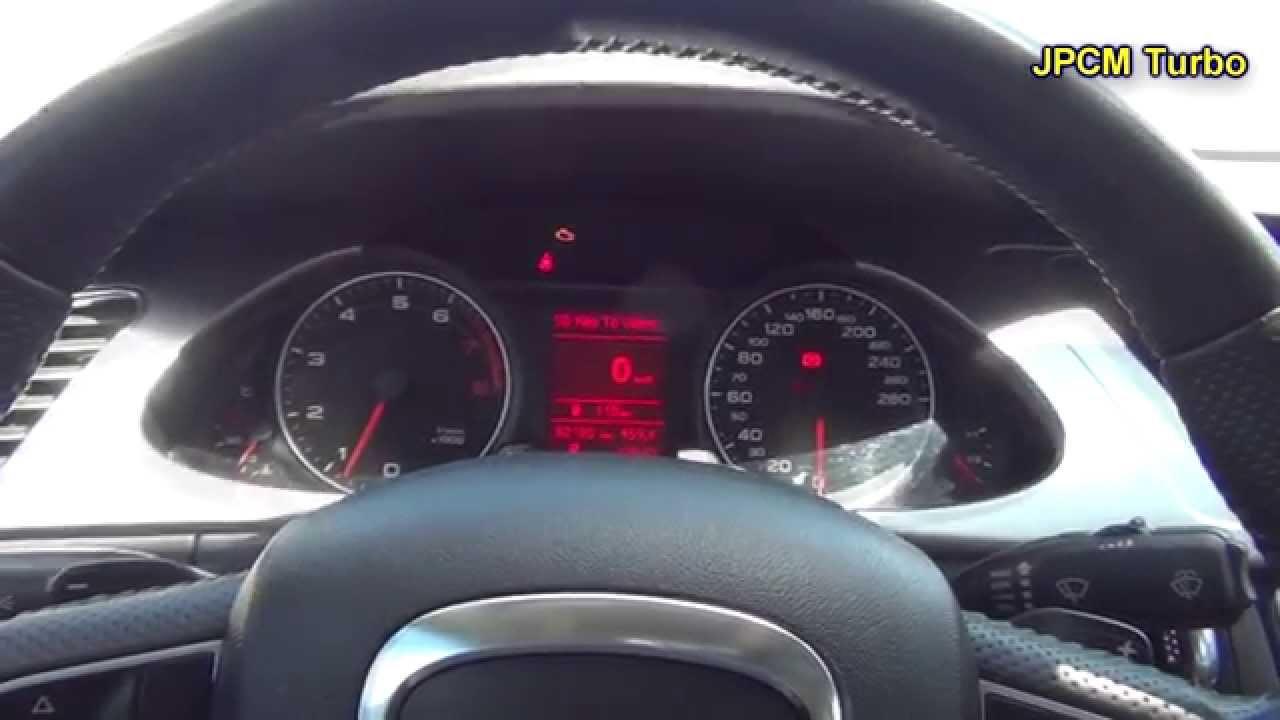 Audi A4 2.0 T >> Nível do óleo do Audi A4 2.0 Turbo - YouTube