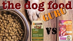 Solid Gold vs Simply Nourish dog food mashup