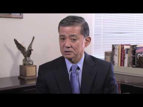 Secretary Eric Shinseki talks about Senator Daniel Inouye's strong support of military nurses