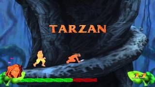 Disney's Tarzan (PS1) 100% Walkthrough - Part 14 - Level 13: Conflict with Clayton (FINAL) (Hard)