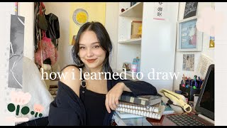 how i learned t๐ draw =^.^=