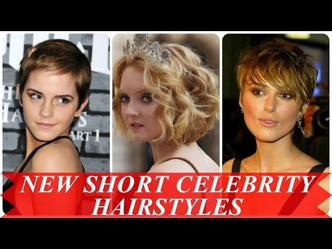 New short celebrity hairstyles