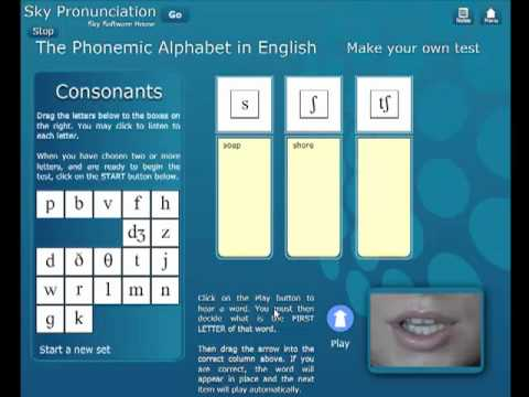 english sounds phonetic software free
