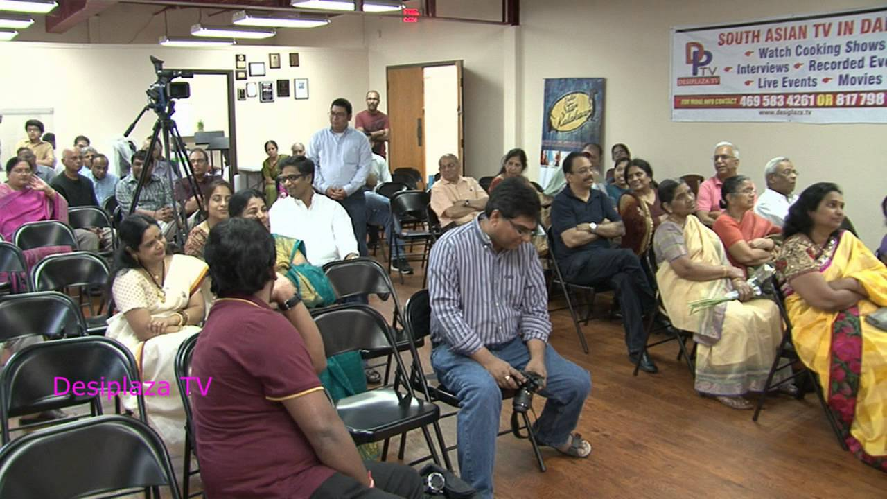 Swarna Atluri conducting quiz at 94th Nela Nela Telugu Vennela (NNTV)