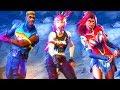 FUNNY CHARACTER FACES EMOTE! Fortnite Battle Royale