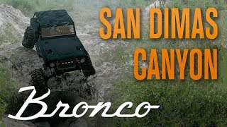 FORD BRONCO CRAWLER ON SAN DIMAS CANYON MAP | SPINTIRES: MUDRUNNER GAMEPLAY | E04