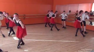 Урок народного танца Часть 3