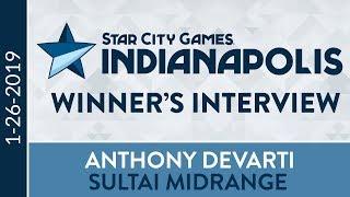 SCGINDY: Winner's Interview with Anthony DeVarti [Standard]