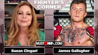 Bellator MMA Fighter James Gallagher Gives His Advice On How To Fight