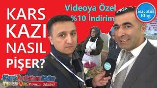 🤩Kars Kazı Nasıl Pişer ⭐️Videoya Özel %10 İndirim ❤️Kars Ardahan Iğdır Tanıtım Günleri 2020 Ankara