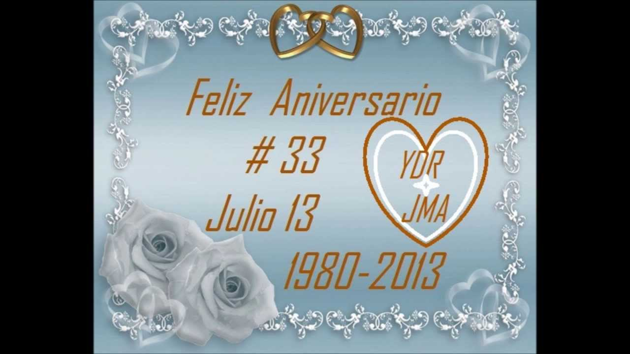 """Feliz Aniversario De Novios: Feliz Aniversario De Bodas"""" Yolanda Del Rio Y Juan Manuel"""
