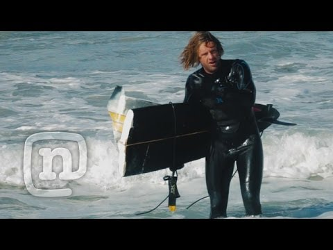 Switchfoot Surf Huge Swell At Cape Town's CrayFish Factory Break Ep. 2