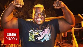 From fat-shamed boy to one of world's strongest men - BBC News