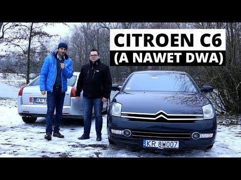 """Używane Citroen C6 3.0 V6 benzyna i diesel - kolekcja dwóch """"full wypasów"""""""