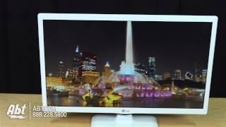 LG 24 White LED 720P HDTV 24LF4520-UW - Overview