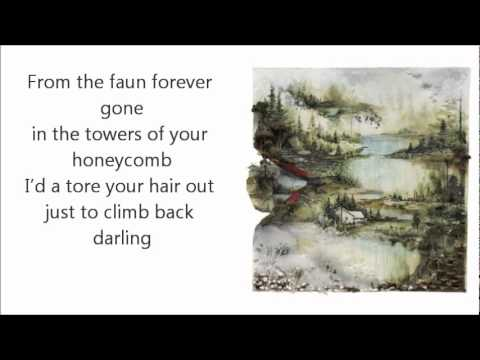 Bon Iver- Towers w/Lyrics