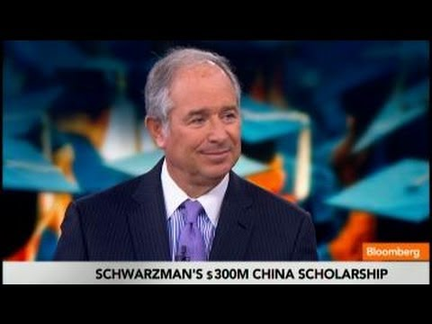 Blackstone's Steve Schwarzman: China Is Where the Jobs Are