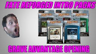 Mtg Fate Reforged Intro Pack Grave Advantage Opening