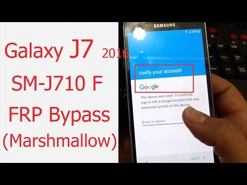 (2017)Exclusive: Remove/Disable Galaxy SM-J710F Google Account Lock (FRP Bypass) without box ᴴᴰ