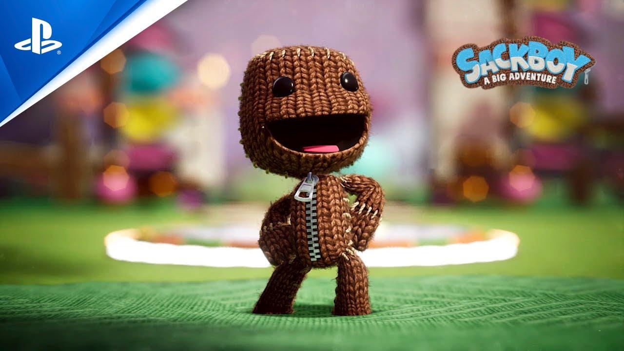 PS5 / PS4『Sackboy: A Big Adventure』出發冒險吧!中文預告