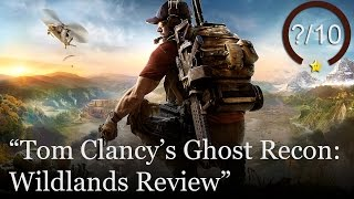 Ghost Recon: Wildlands Review (Video Game Video Review)