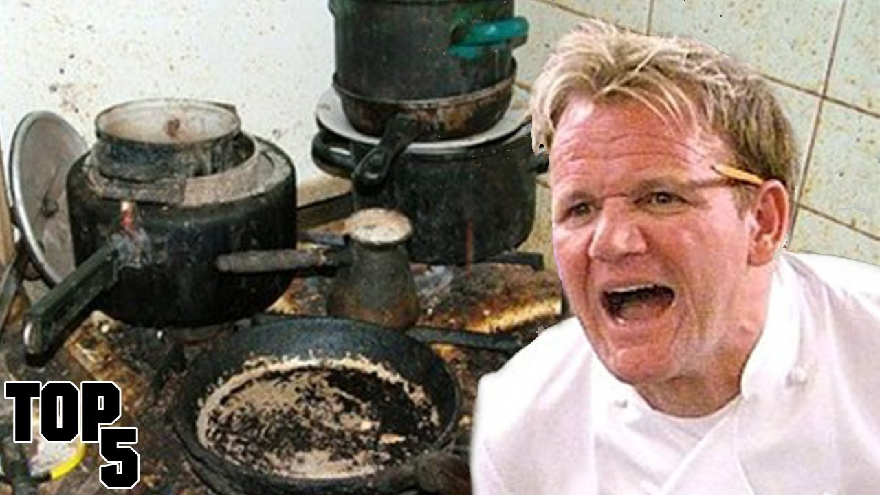 Most Dirtiest Restaurants In Kitchen Nightmares
