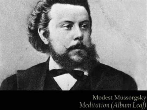 Mussorgsky - Meditation (Album Leaf)