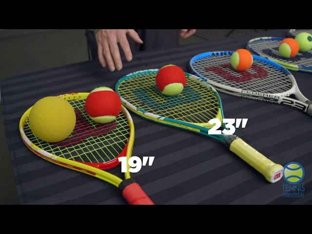 Coach Virtuel - S2E2 : Les équipements adaptés à un junior au tennis