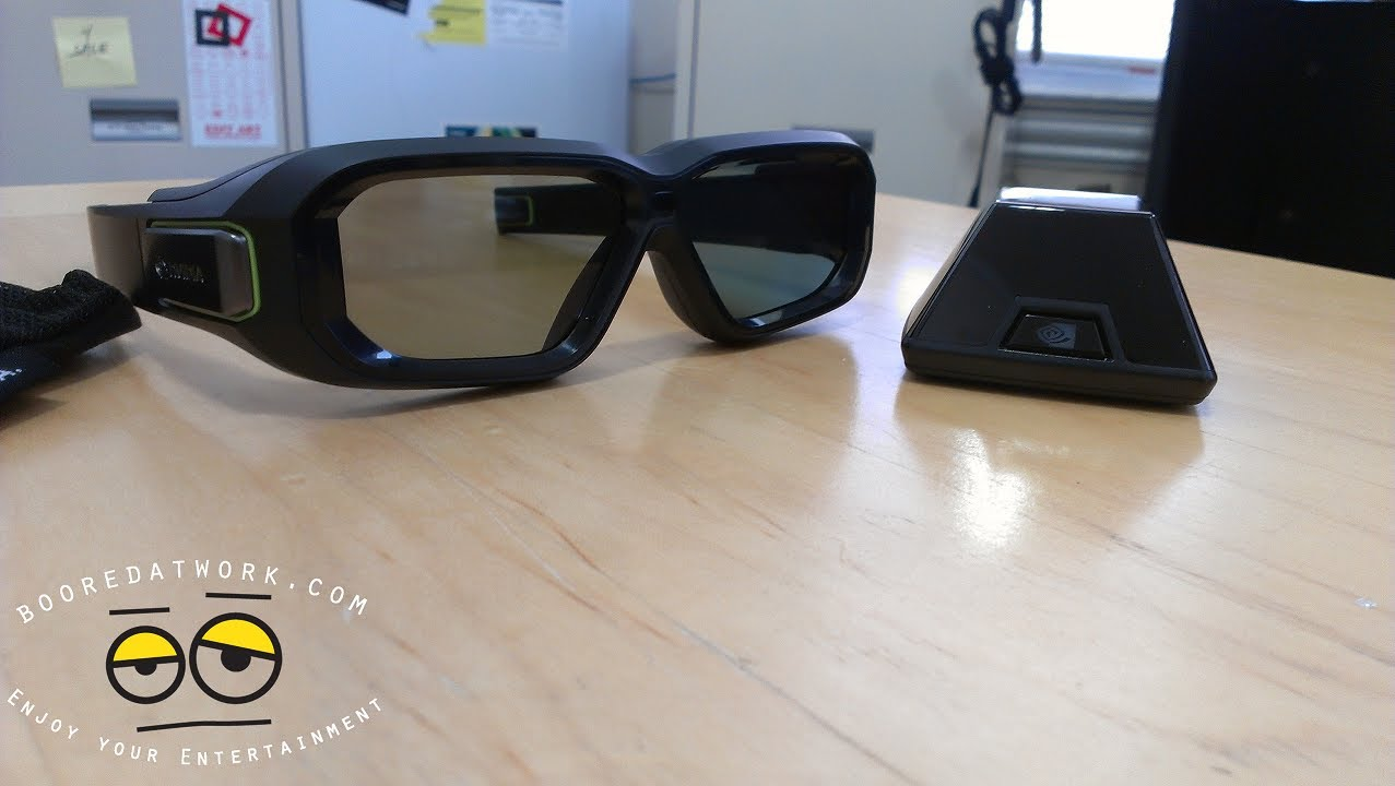 9afb64aa5916 Nvidia 3D Vision 2 Wireless Glasses kit Unboxing - YouTube