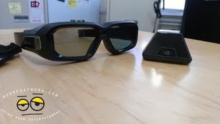 Nvidia 3D Vision 2 Wireless Glasses kit Unboxing