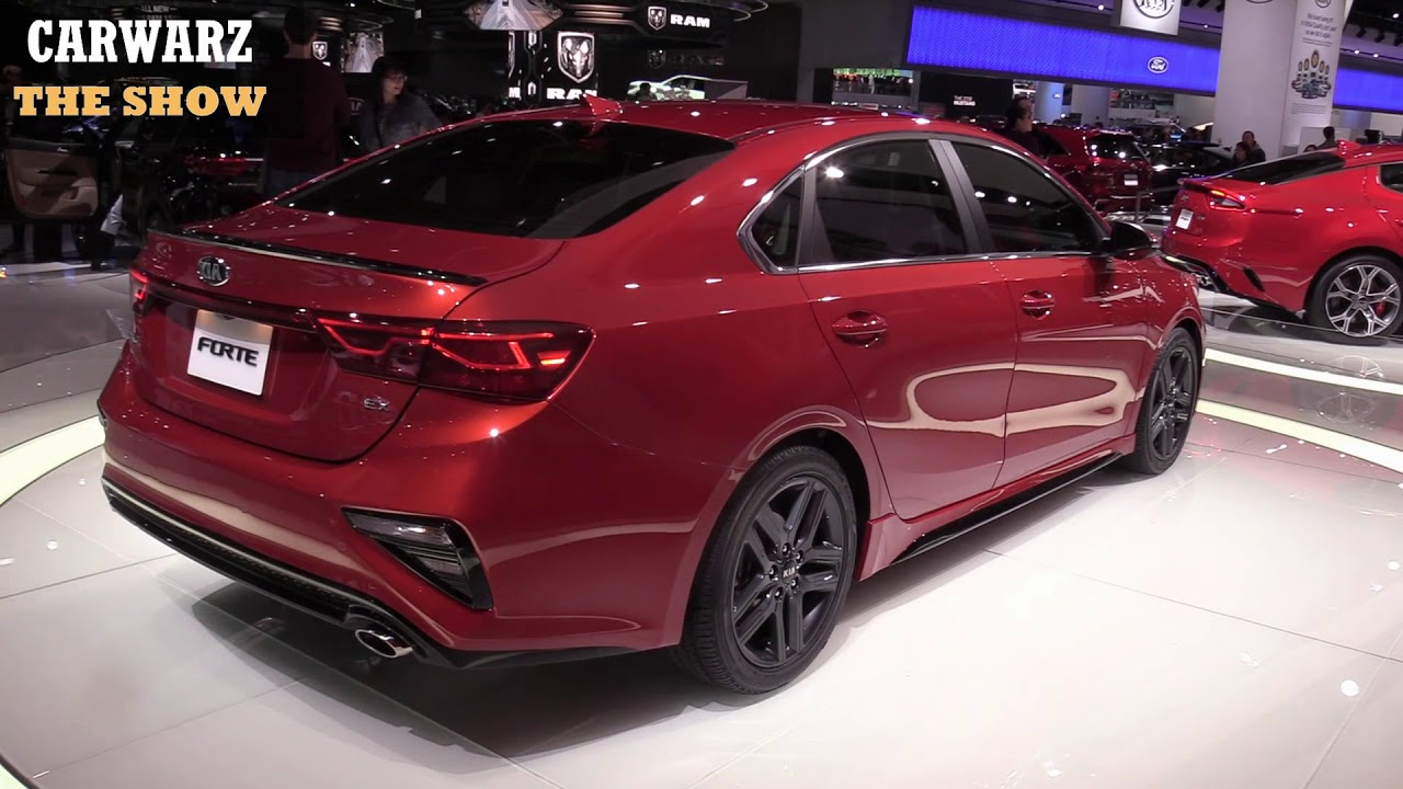 2019 kia forte ex launch edition 4 cyl 147hp at the naias. Black Bedroom Furniture Sets. Home Design Ideas