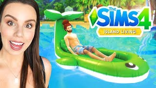 The Sims 4 Island Living - First Gameplay!