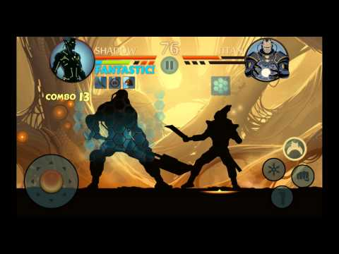 Shadow Fight 2 - Defeating TITAN + Ending / Credits [720p 60FPS]