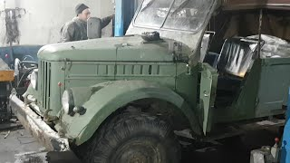 ГАЗ-69 после очень ЖЕСТКОГО OFF ROADa