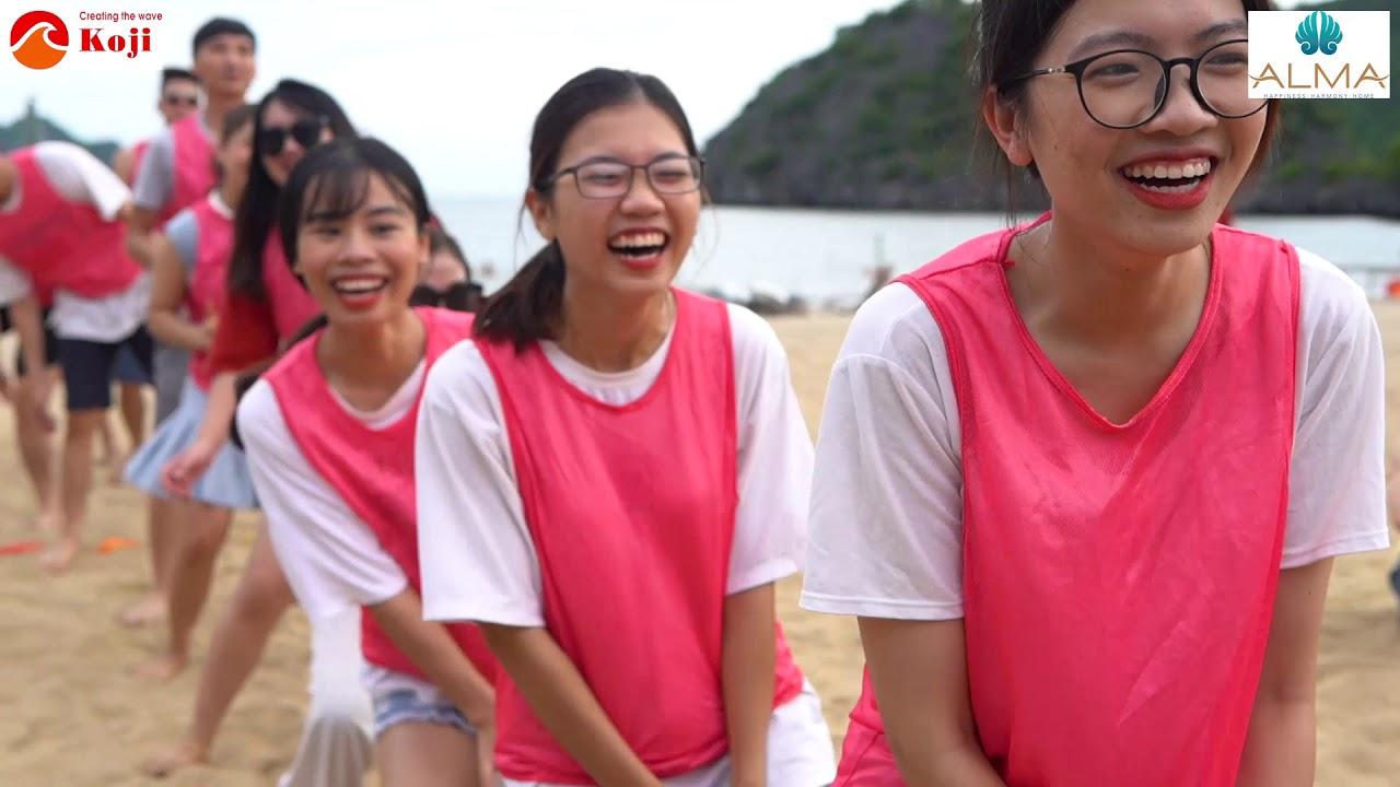 TeamBuilding Cty TNHH Khu Du Lịch Vịnh Thiên Đường