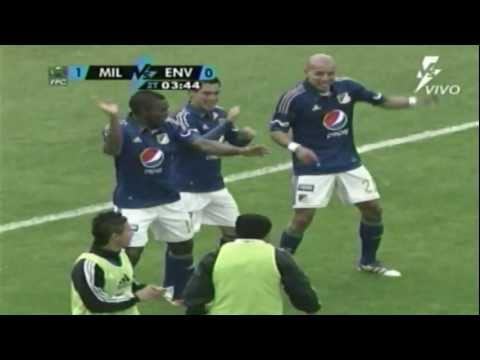 Envigado vs Millonarios (1-2) Fecha 1 Liga Postobón 2014-I from YouTube · Duration:  29 seconds