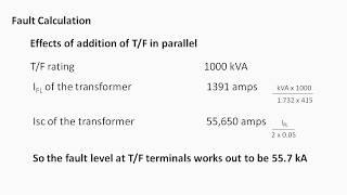 Transformer Full Load Current Chart