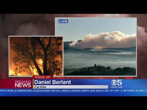 KPIX Saturday Morning Wildfires Update