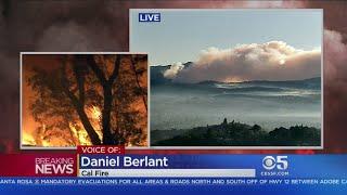 KPIX Saturday Morning Wildfires Update