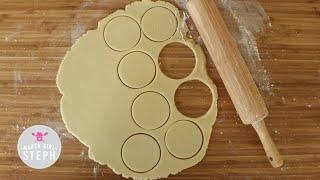 HOW TO MAKE SUGAR COOKIE DOUGH - BASIC RECIPE
