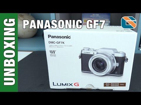 Panasonic DMC-GF7 Unboxing & First Look