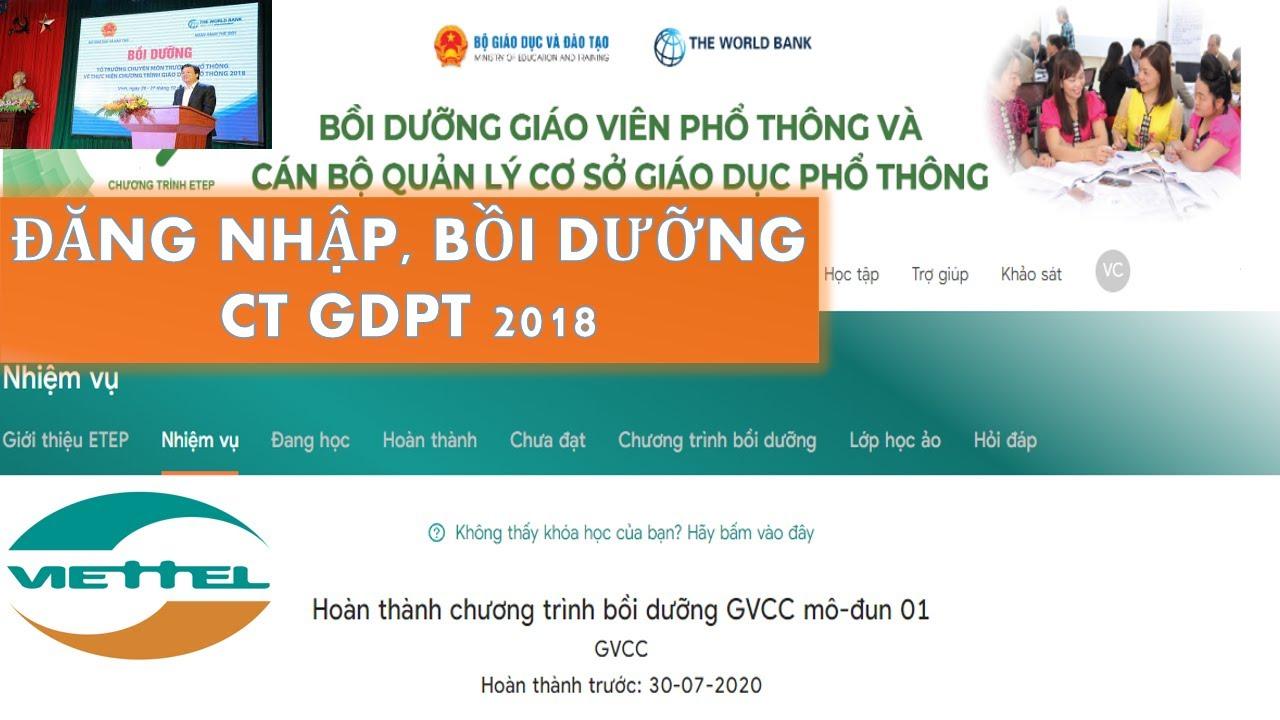 HƯỚNG DẪN TẬP HUẤN CHƯƠNG TRÌNH GDPT 2018   TẬP HUẤN CHƯƠNG TRÌNH TỔNG THỂ 2018   GDPT 2018