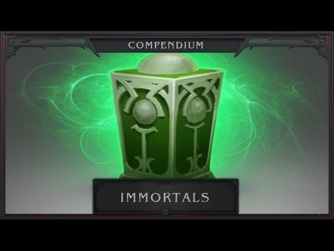 DotA 2 Compendium Immortal Weapons