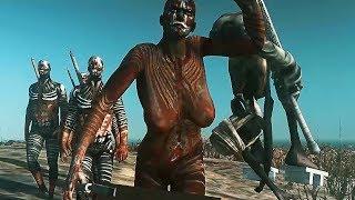 Naked Woman With Big Weapons Attacks Man - Kenshi