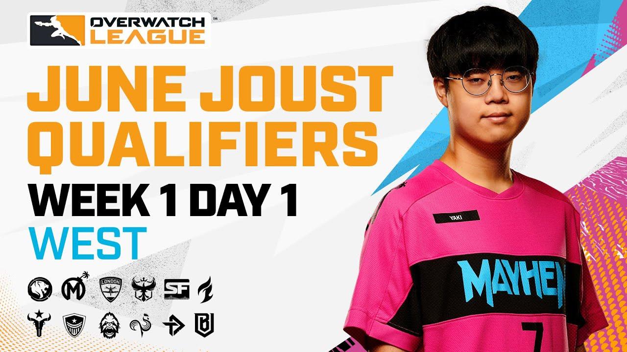 Overwatch League 2021 Season | June Joust Qualifiers | Week 1 Day 1 — West