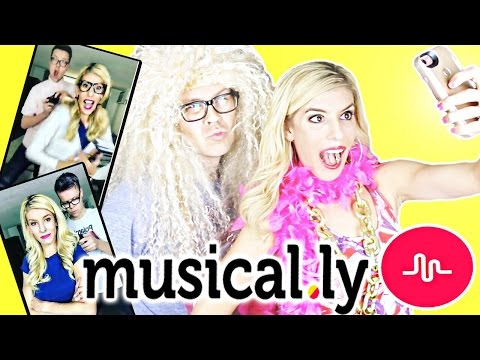 FILMING 50 MUSICALLYS IN 1 DAY CHALLENGE!!